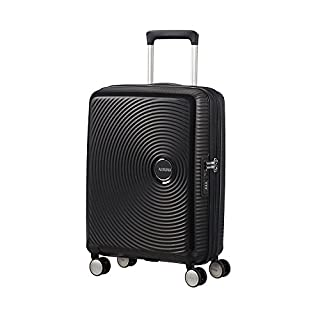 American Tourister Soundbox Spinner Bagaglio a Mano 55 Cm, 41 L, Nero (Bass Black) (B06XSSJQDB) | Amazon price tracker / tracking, Amazon price history charts, Amazon price watches, Amazon price drop alerts