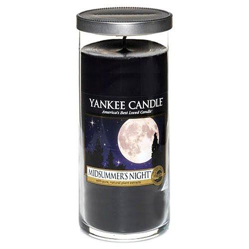Yankee Candle ?midsummers night? stumpenkerze schwarz groß