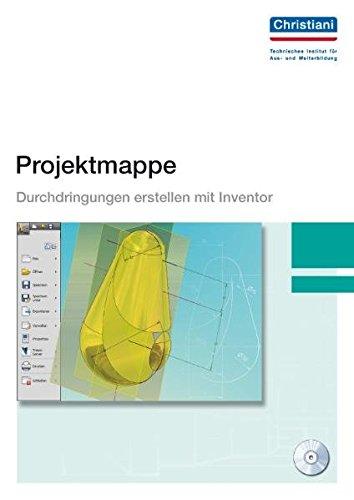 Projektmappe Durchdringungen erstellen mit Inventor
