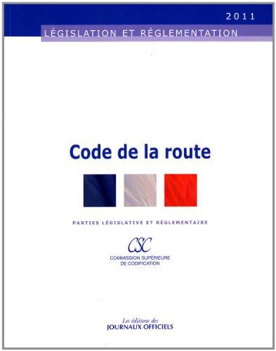 Code de la route - Brochure 20017 - Edition au 17 mars 2011