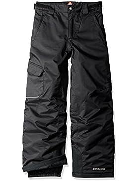 Columbia Bugaboo Pant Pantalones de esquí, Niños, Negro, XS