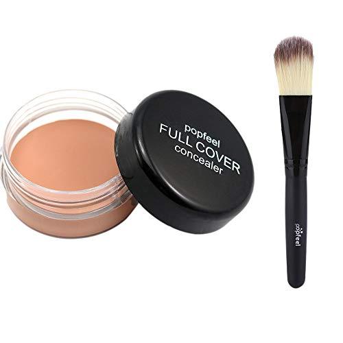 Eaylis Crayon Correcteur + Pinceau En Bois Base Base De Maquillage Nude Face