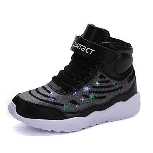 Axcone LED Leuchtet Schuhe Sneakers mit USB der - Halloween Schuhe