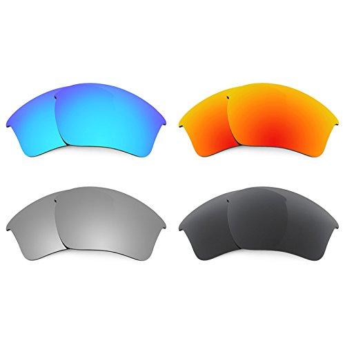 Revant Ersatzlinsen für Oakley Half Jacket 2.0 XL Polarisiert 4 Paar Kombipack K018