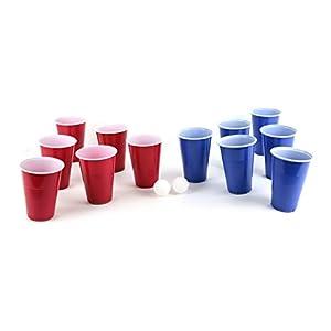 Mister gadget-jeux de beber cerveza pong-12verres-2pelotas, mg3091