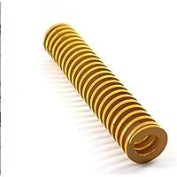 LITAO-XIE, Lt-Spring, 1pc Yellow Die Resorte 58% Relación de compresión del Molde del Resorte TF25x60 / 25x65 / 25x95 / 25x100mm más Ligero Cargando Die Resorte de compresión (tamaño : 25x100mm)