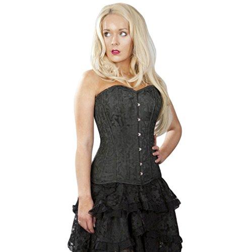 Burleska - Bustino -  donna nero 52