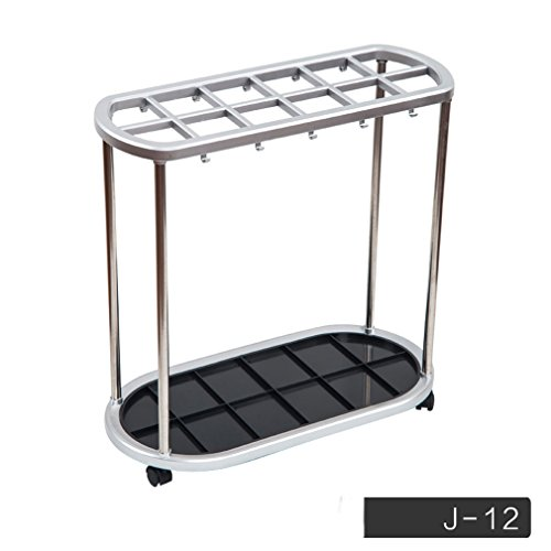 Umbrella Stand Green ABS Storage Rack 6 Hole 12 Hole 21 Hole Umbrella Shelf Umbrella Umbrella Umbrella Shelf (J12 Hole) (Size 56*28*55CM)