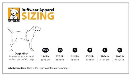 Ruffwear 05601-025L Quinzee Warme Hundejacke, L, grau - 4