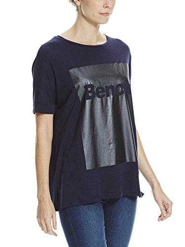 Bench Damen T-Shirt Foil Tee Blau (Maritime Blue BL193)