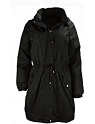 Mesdames Femmes Long Water Proof Parka