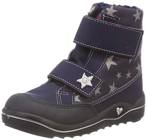 RICOSTA Mädchen BIBBI Hohe Sneaker, Blau (Nautic/Marine 177), 23 EU