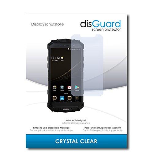 disGuard® Bildschirmschutzfolie [Crystal Clear] kompatibel mit Doogee S60 [2 Stück] Kristallklar, Transparent, Unsichtbar, Extrem Kratzfest, Anti-Fingerabdruck - Panzerglas Folie, Schutzfolie