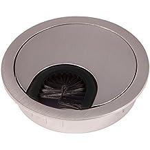 SO-TECH® Pasacables (metal, 68 mm de diámetro, aspecto de acero inoxidable)