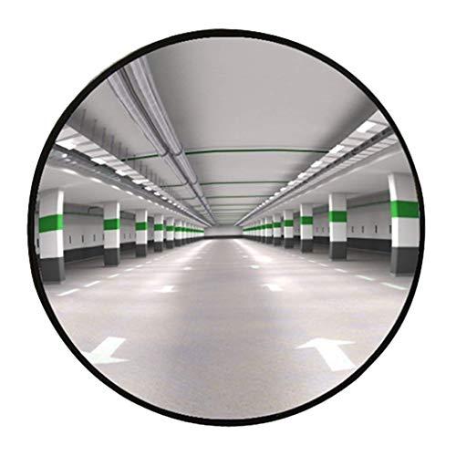 Geng Konvexer Spiegel, Supermarkt-Diebstahlsicherungsspiegel, PC-Material, Antikollisions-Panoramaspiegel, Erweitern Sie Ihren Horizont, Um Die Sicherheit Zu Erhöhen (Color : Black, Size : 80cm)