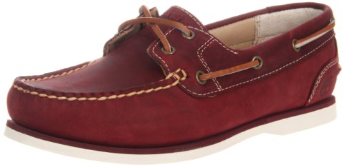 Timberland AMHRST 2EYE BOAT 3417R, Damen, Rot (Red), EU 37 (US 6) (Amherst Eye 2 Boat)