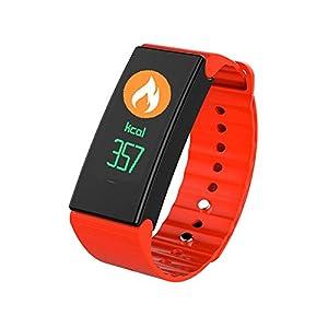 Pawaca Activity Fitness Tracker, Waterproof Smartwatch Wristband Bracelet with Sleep Monitor Wireless Bluetooth Activity Tracker with Heart Rate Monitor Sport Pedometer for Men/Women/Kids