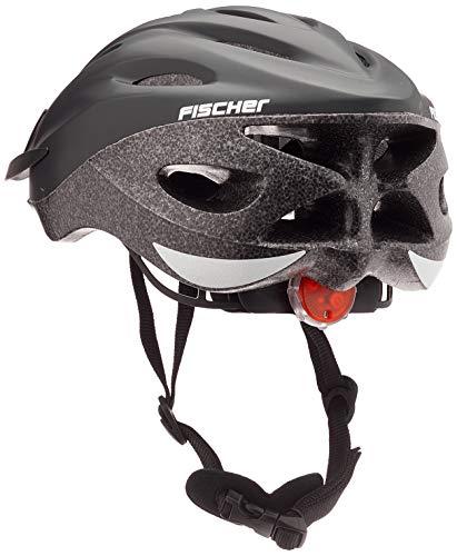 Fischer Fahrradhelm Shadow, Schwarz, L, 86163
