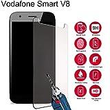 Slri Panzerglas Schutzfolie für Vodafone Smart E8 N8, Glas Displayschutzfolie, Anti-Kratzer, Anti-Öl, Anti-Bläschen - für Vodafone Smart V8