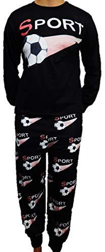 Toller Jungen Schlafanzug Pyjama in den Größen 140-176 (164-176)