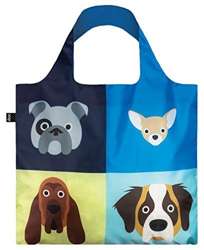 STEPHEN CHEETHAM Dogs Bag: 50x42 cm