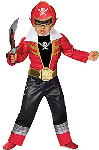 Super Megaforce Power Rangers Red Ranger Light-Up Toddler (Ranger Kostüme Power Ranger Red)