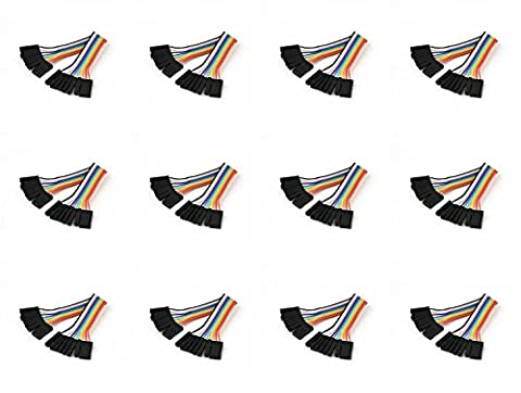12 x Quantity of Walkera Runner 250 (R) Advanced GPS Quadcopter Drone (100mm) Super Clean RC Male to Male Ribbon Extensions Set(Servo Connector) - FAST FROM Orlando, Florida USA!