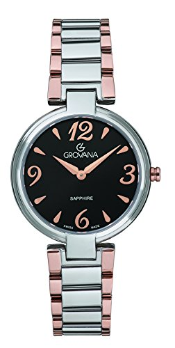 GROVANA Womens Analogue Classic Quartz Watch with Stainless Steel Strap 4556.1157000000003