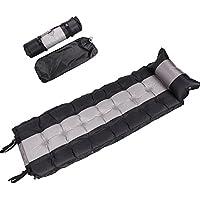 & # x3010; flash automatico Turtle & # x3011; materassino autogonfiante materasso gonfiabile con cuscino per escursionismo, campeggio per interni ed esterni può essere impiombato, 192* 62* 5,