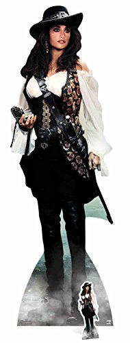 empireposter Pirates of The Caribbean - Angelica - Fluch der Karibik Pappaufsteller ca. 53x165 cm (Der Karibik Angelica-fluch)