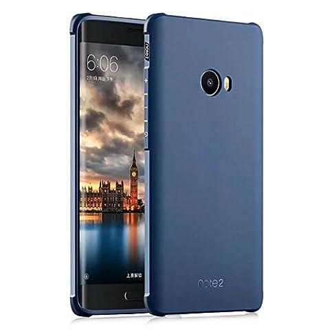 UKDANDANWEI Xiaomi Mi Note 2 Coque,Tpu Silicone Gel Étui Housse Protection Shell Case Cover Pour Xiaomi Mi Note 2 - Bleu