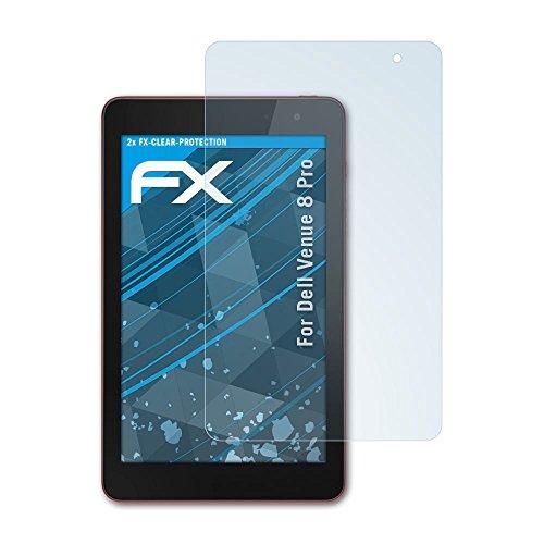 atFolix Schutzfolie kompatibel mit Dell Venue 8 Pro Folie, ultraklare FX Bildschirmschutzfolie (2X)