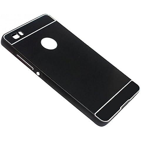 lesuzza (TM) in alluminio Metallo Custodia per Huawei Ascend P8Lite 5.0Lite caso capa ultra sottile telaio in metallo con PC custodia protettiva