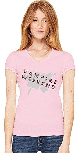 Vampire Weekend Womens V-neck T-shirt Small
