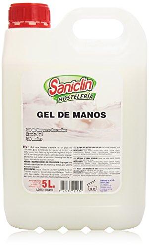 Saniclin Hostelería - Gel para manos - 5 l