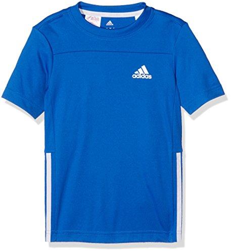 adidas Jungen Gear Up T-Shirt, Blue/Blue/White, 176