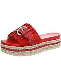 Ital-Design Damenschuhe Sandalen & Sandaletten Pantoletten