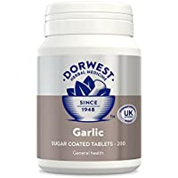 DORWEST HERBS Garlic Tablets for Dogs and Cats 200 Tablets