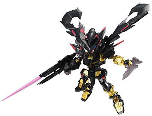 NXEDGE Style Mobile Suit Gundam Seed Astray MS UNIT Gundam Astray Gold Frame Amatsu About 9 cm ABS & PVC Painted Action Figure