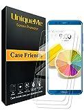 UniqueMe [3 pièces Protection écran pour Huawei Honor 9 Lite, Ultra Résistant Film...