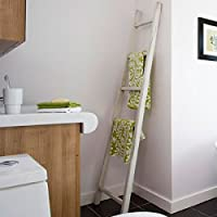 Tutti Decor Decorative Wooden Ladder, perfect for hanging your clothes, towels and bathroom linens. Dimensions: 170 x 49 cm