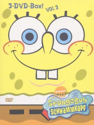 SpongeBob Schwammkopf - 3er Box, Vol. 03 [3 DVDs] (Spongebob Schwammkopf Dvd-box)