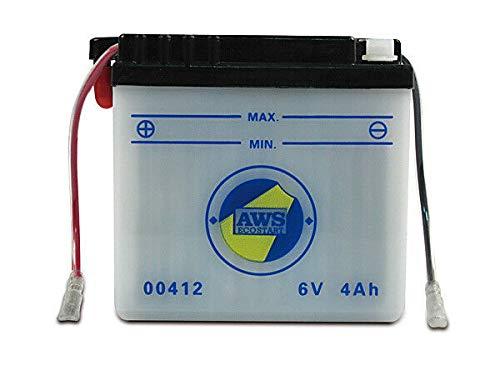 AWS Batterie 6V 4 Ah für Simson inkl. Säurepack inkl. 7,50EUR Pfand