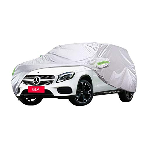 YXLcars Mercedes-Benz GLA-Klasse Autoschutzhülle Dicke Autokleidung Regenhülle Autotuch Sonnencreme Autoschutzhülle (Size : GLA200) - Besten Der Mailbox Die