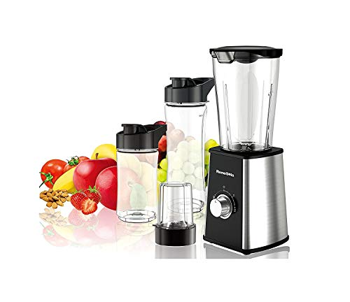 La Italia By Renesola 300W Powerful Motor Nutri Blender, 110X125X330mm(Black)