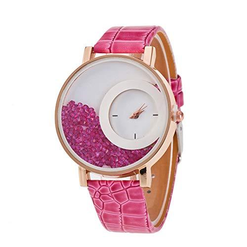 Liandd Frauen beobachten Strass Armbanduhren Casual Women Dress Uhren Crystal Solid Color Hot Geschenke, (Womens Crystal Uhren)