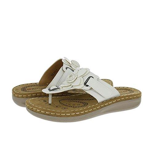 Heavenly Feet Drifter Sandalen Weiß Weiß