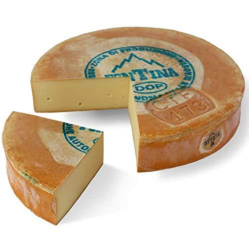 Fontina valle d'aosta dop mezza forma 4kg ca
