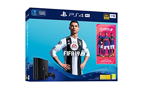 PlayStation 4 Pro (PS4) - Consola 1 TB + Fifa 19