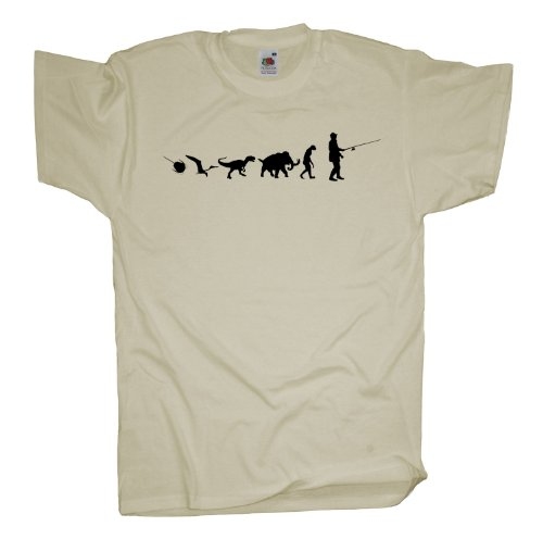 Ma2ca - 500 Mio Years - Angler Angel T-Shirt Natural